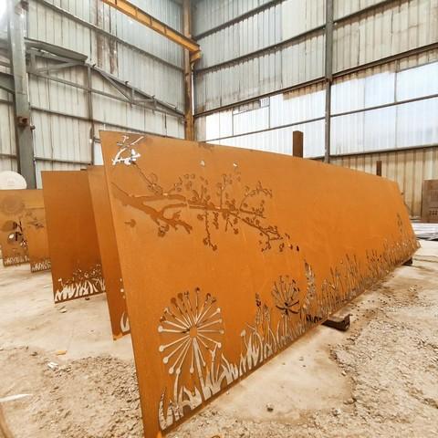 q345nh耐候鋼板百科,定做切割q345nh耐候鋼板
